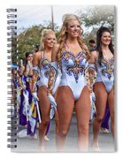 Lsu Marching Band 4 Spiral Notebook
