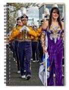 Lsu Marching Band 5 Spiral Notebook