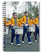 Lsu Marching Band Spiral Notebook