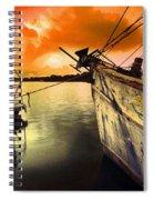 Lsu Shrimp Boat Spiral Notebook