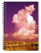 Lubriano, Italy, Infrared Photo Spiral Notebook