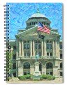 Lucas County Court House Spiral Notebook