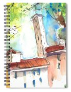 Lucca In Italy 06 Spiral Notebook