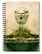 Lucca Fountain Spiral Notebook