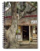 Luckenbach 2 Spiral Notebook