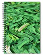Lucky Clovers Spiral Notebook