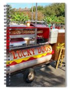 Lucky Dogs Spiral Notebook