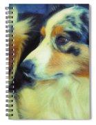 Lucky Dog's Life Spiral Notebook