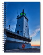 Ludington Lighthouse Spiral Notebook