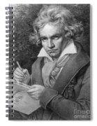 Ludwig Van Beethoven Spiral Notebook