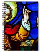 Luke 1 Verse 30 To 33 Spiral Notebook