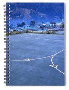 Lukla Airport Spiral Notebook