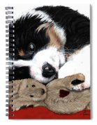 Lullaby Berner And Bunny Spiral Notebook