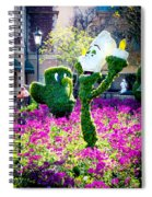 Lumiere And Chip Spiral Notebook