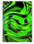 Luminous Energy 19 Spiral Notebook