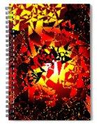 Luminous Energy 24 Spiral Notebook