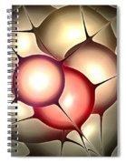 Luminous Orbs Spiral Notebook