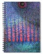 Lunar Night Spiral Notebook