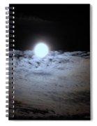Lunar Ocean Spiral Notebook