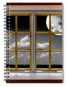 Lunar Power Spiral Notebook