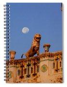 Lunar Powered Spiral Notebook