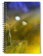 Lunaria Annua  Spiral Notebook