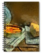Lunch In Times Of Crisis Spiral Notebook