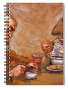Lunchtime At Tim  Spiral Notebook
