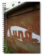Lund Fishing Boat Spiral Notebook