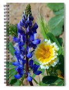 Lupine And Tidy Tip Spiral Notebook