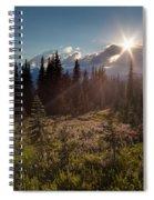 Lupine Field Sunstar Spiral Notebook