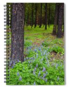 Lupine Forest Spiral Notebook