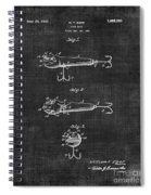 Lures Eger Patent 036 Spiral Notebook
