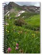 Lush Colorado Summer Landscape Spiral Notebook