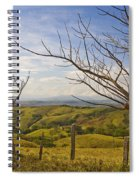 Lush Land Leafless Trees 2 Spiral Notebook