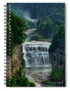 Lush Letchworth Inspiration Point Spiral Notebook