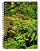Lush Temperate Rainforest Spiral Notebook