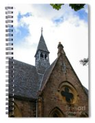 Luss Church Steeple Spiral Notebook