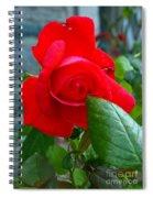 Luss Rose Spiral Notebook