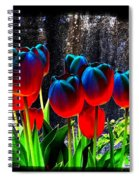 Lustrous Tulips Spiral Notebook