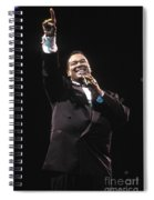 Singer Luther Vandross Spiral Notebook