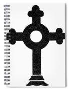 Lutheran Cross Spiral Notebook