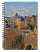 Luxembourg Fortification Spiral Notebook
