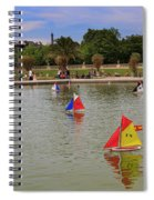 Luxembourg Gardens Paris Spiral Notebook