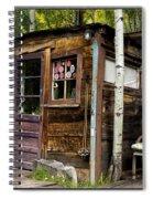 Luxury Ski Lodge In Telluride Co Dsc07461 Spiral Notebook
