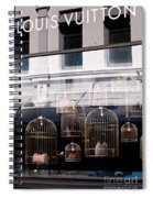 Lv Gilded Cage Bags Spiral Notebook