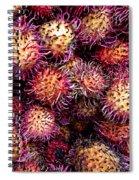 Lychee Fruit - Mercade Municipal Spiral Notebook