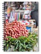 Lychees Spiral Notebook