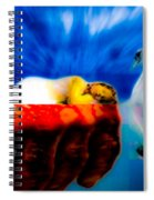 Lying In Blood Of Love Spiral Notebook