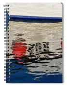Lyme Regis Harbour - December Spiral Notebook